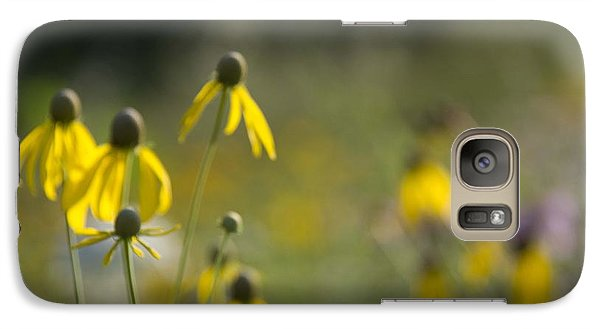 Galaxy Case featuring the photograph Wild Flowers by Daniel Sheldon