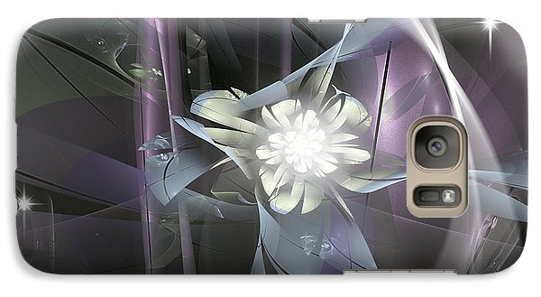 Galaxy Case featuring the digital art Wild Flowers by Melissa Messick
