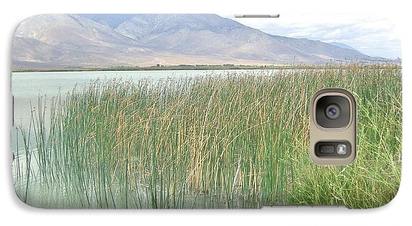 Galaxy Case featuring the photograph Wild Grass by Marilyn Diaz