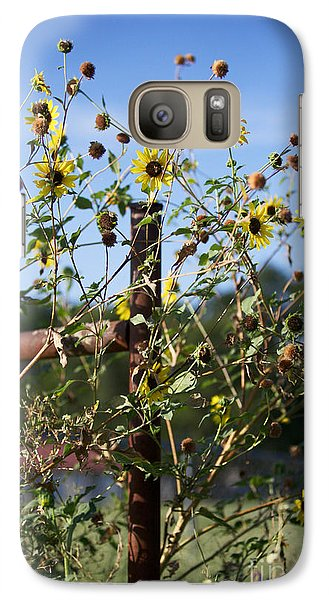 Galaxy Case featuring the photograph Wild Growth by Erika Weber