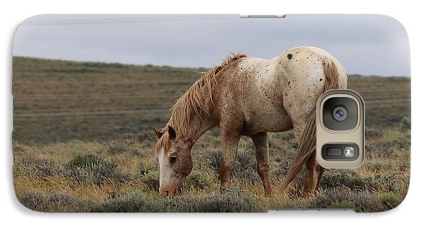 Galaxy Case featuring the photograph Wild Horse by Christy Pooschke