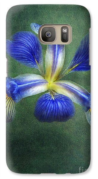 Galaxy Case featuring the photograph Wild Iris by Kathi Mirto