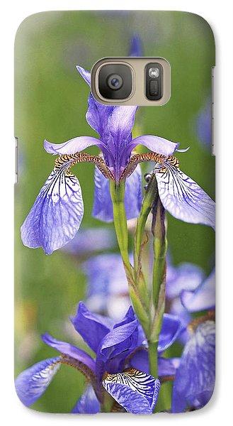 Wild Irises Galaxy S7 Case