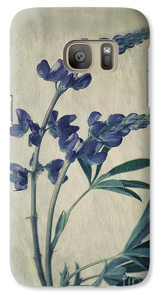 Flowers Galaxy S7 Case - Wild Lupine by Priska Wettstein