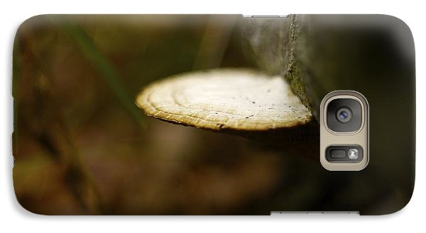 Galaxy Case featuring the photograph Wild Mushroom by Alex King
