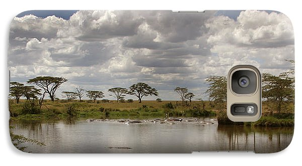 Galaxy Case featuring the photograph Wild Pond by Joseph G Holland