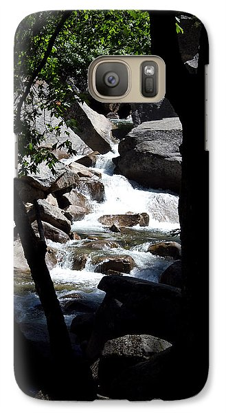 Galaxy Case featuring the photograph Wild River by Brian Williamson