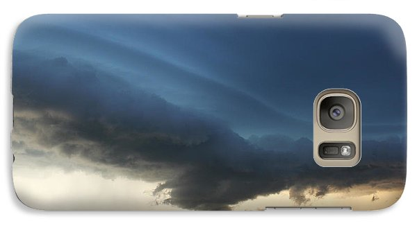 Galaxy Case featuring the photograph Wild Shelf Cloud by Ryan Crouse