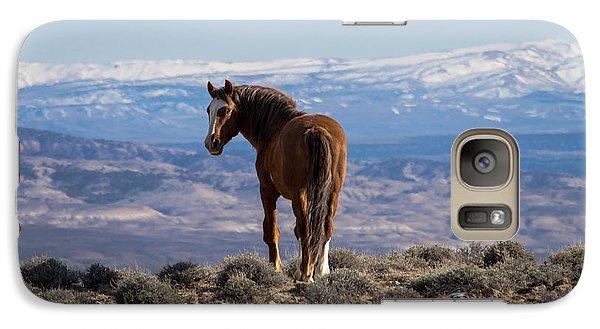 Wild Stallion Of Sand Wash Basin Galaxy S7 Case