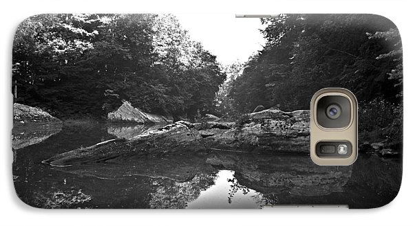 Galaxy Case featuring the photograph Wild Stream Wat 237 by G L Sarti