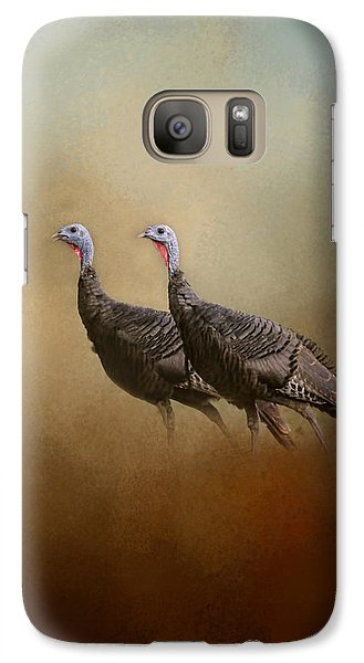 Wild Turkey At Shiloh Galaxy S7 Case