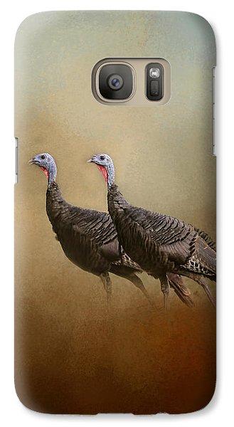 Wild Turkey At Shiloh Galaxy S7 Case by Jai Johnson