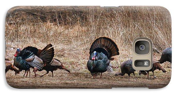 Wild Turkeys Galaxy S7 Case by Lori Deiter