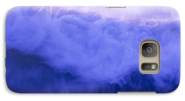 Galaxy Case featuring the photograph Wild Waves by Serene Maisey