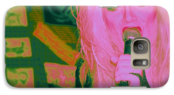 Galaxy Case featuring the photograph wild Wild Jayne by Steven Macanka