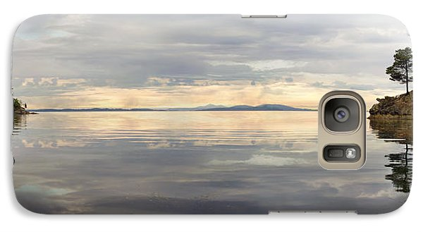 Galaxy Case featuring the photograph Wildcat Cove Along Chuckanut Drive In Washington by JPLDesigns