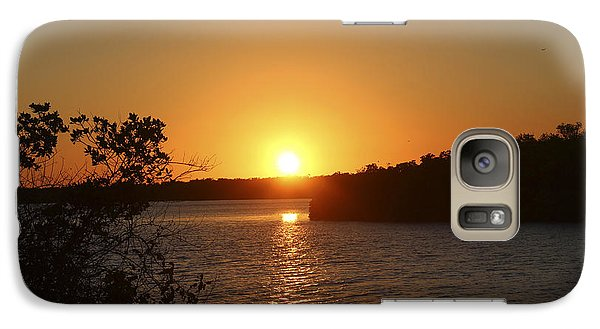 Galaxy Case featuring the photograph Wildcat Cove Sunset by Megan Dirsa-DuBois