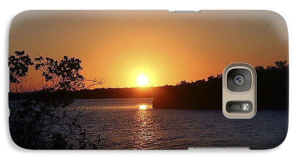 Galaxy Case featuring the photograph Wildcat Cove Sunset2 by Megan Dirsa-DuBois