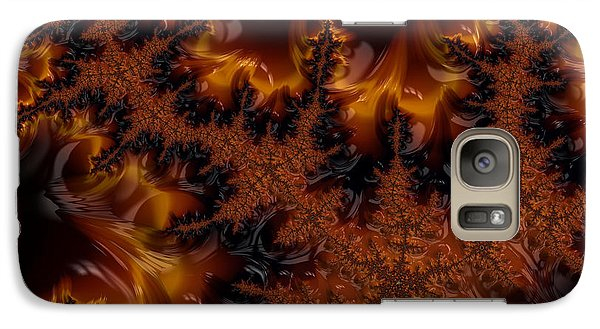 Galaxy Case featuring the digital art Wildfire by Owlspook