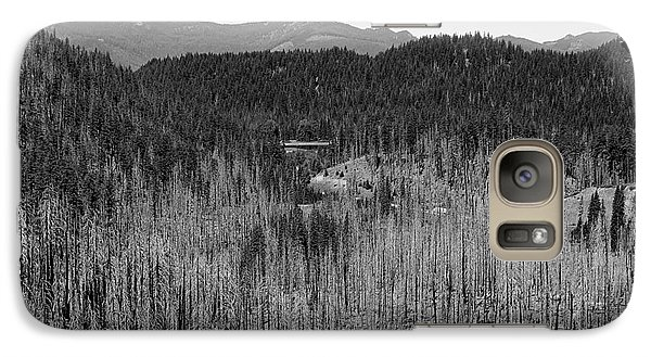 Galaxy Case featuring the photograph Wildfire Ravage 3 by Erica Hanel
