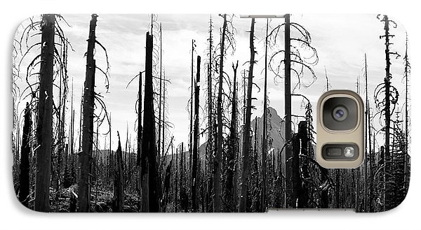 Galaxy Case featuring the photograph Wildfire Ravage by Erica Hanel