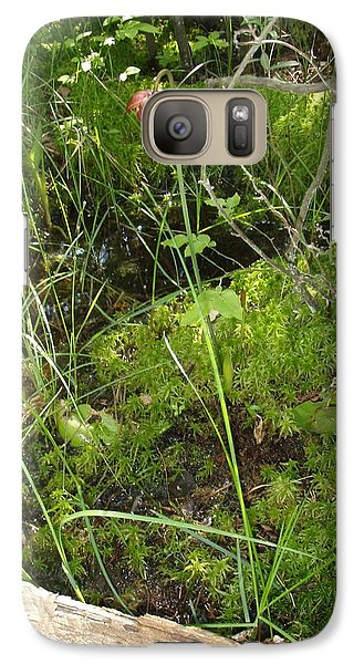 Galaxy Case featuring the photograph Wildflower 1 by Robert Nickologianis
