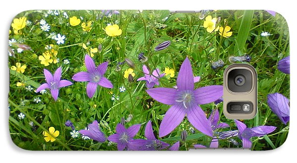Galaxy Case featuring the photograph Wildflower Garden by Martin Howard