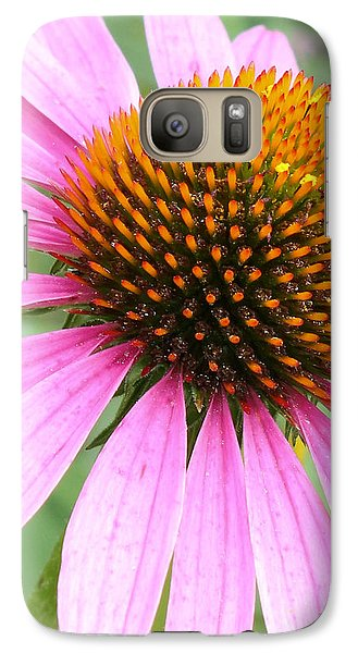 Galaxy Case featuring the photograph Wildflower In Profile by Anita Oakley