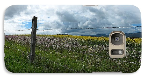 Galaxy Case featuring the photograph Wildflower Showers by Paul Foutz