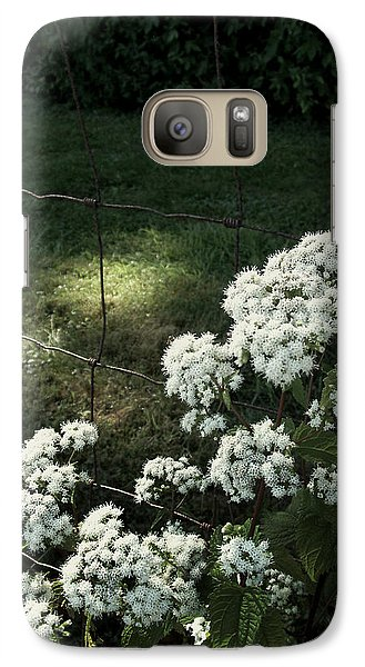 Galaxy Case featuring the photograph Wildflowers by Cynthia Lassiter