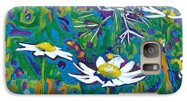 Galaxy Case featuring the painting Wildflowers by Denise Deiloh