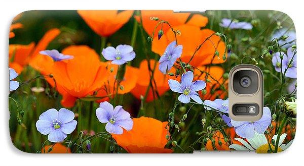 Galaxy Case featuring the photograph Gabriella's Flowers by Lisa L Silva