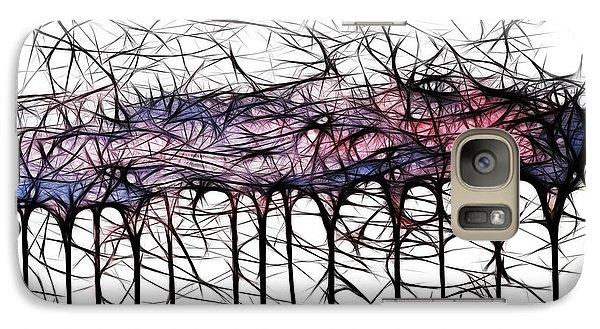 Galaxy Case featuring the digital art Wildflowers by Selke Boris