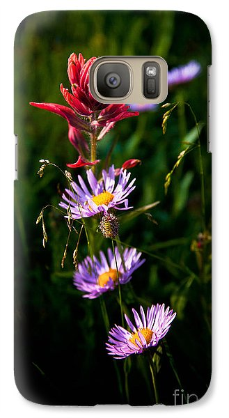 Galaxy Case featuring the photograph Wildflowers by Steven Reed
