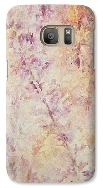 Galaxy Case featuring the painting Wildflowers Three by Carolyn Rosenberger