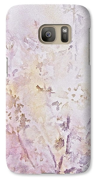 Galaxy Case featuring the painting Wildflowers Two by Carolyn Rosenberger