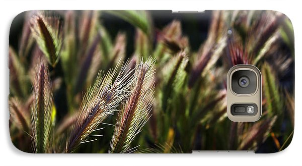 Galaxy Case featuring the photograph Wildgrasses by Richard Stephen