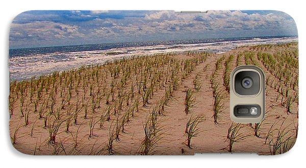 Wildwood Beach Breezes  Galaxy S7 Case by David Dehner