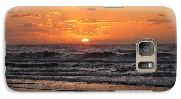 Wildwood Beach Here Comes The Sun Galaxy Case by David Dehner