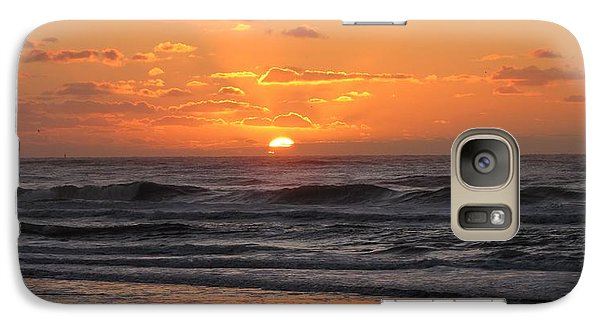 Wildwood Beach Here Comes The Sun Galaxy S7 Case