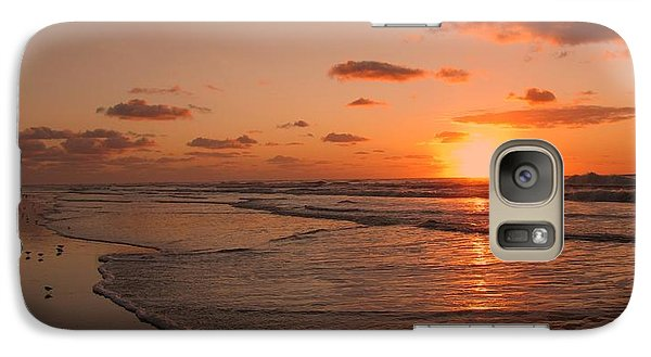 Wildwood Beach Sunrise II Galaxy S7 Case