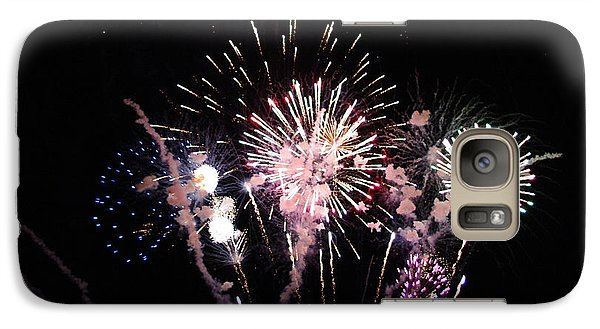 Galaxy Case featuring the photograph Wildwood Fireworks by Greg Graham