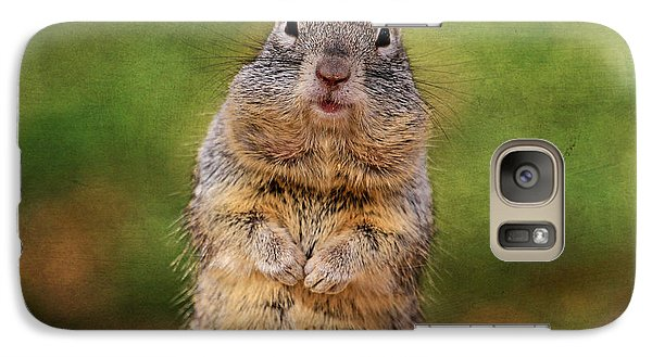 Will Work For Peanuts Galaxy S7 Case
