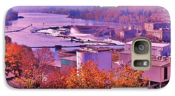 Galaxy Case featuring the photograph Willamette Falls Oregon by Suzanne McKay