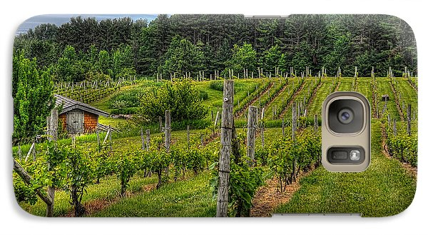 Galaxy Case featuring the photograph Willows Winery by Trey Foerster