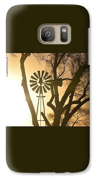 Galaxy Case featuring the photograph Spinning In The Sundown by Clarice  Lakota