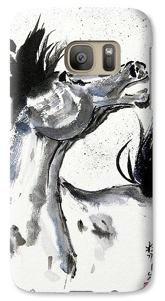 Galaxy Case featuring the painting Wind Fire by Bill Searle
