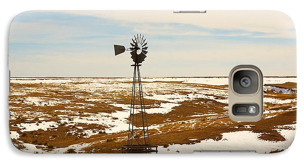 Galaxy Case featuring the photograph Wind Mill  by Shirley Heier
