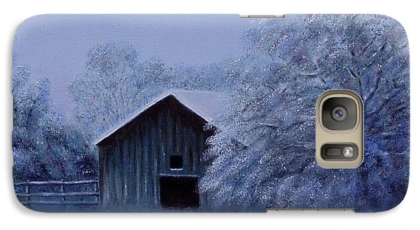 Galaxy Case featuring the painting Windberg Barn by Gene Gregory