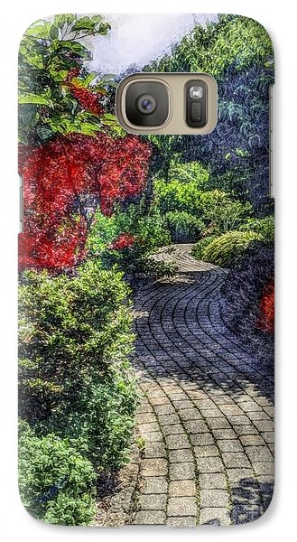 Galaxy Case featuring the photograph Winding Path  by Becky Lupe